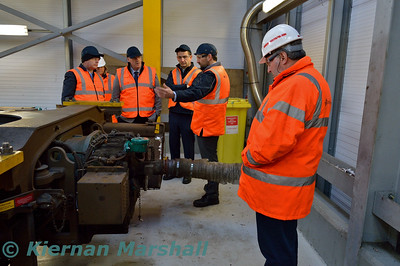 International Railway Safety Council visit to Laois Traincare Depot