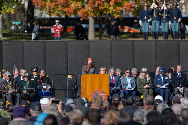 2018 Veteran's Day - 25th Anniversary of the Vietnam Women's Memorial