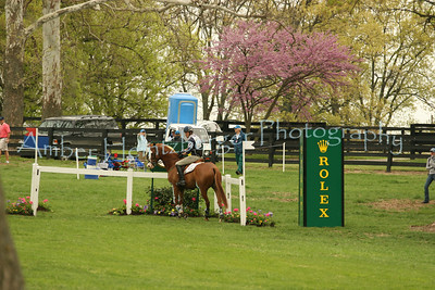 Boyd Martin and Neville Bardos at Rolex 2008