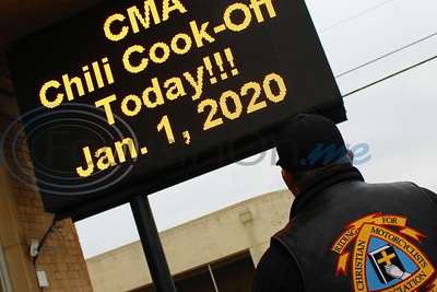 New Year's Ride & Chili Cookoff by Byron Haden