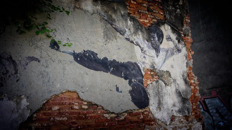 Penang Bruce Lee Street Art