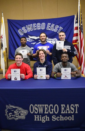 Oswego East College Signing Day 2015