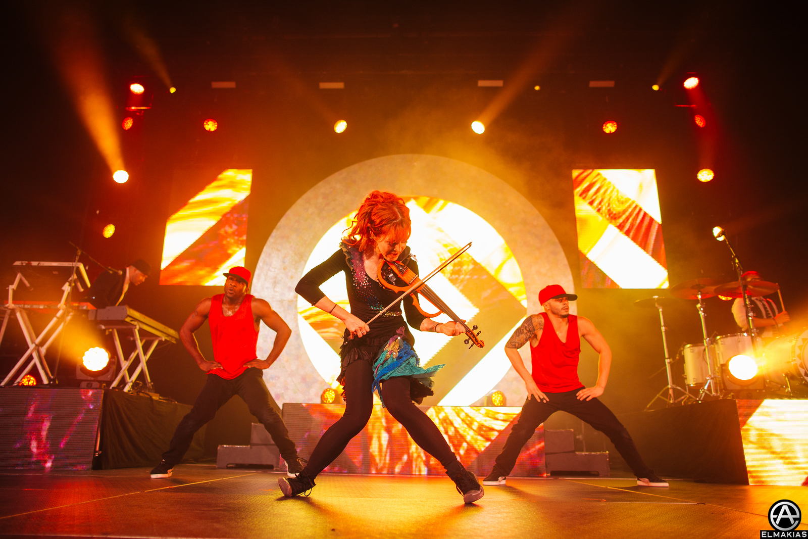 Lindsey Sterling on the Shatter Me Tour by Adam Elmakias