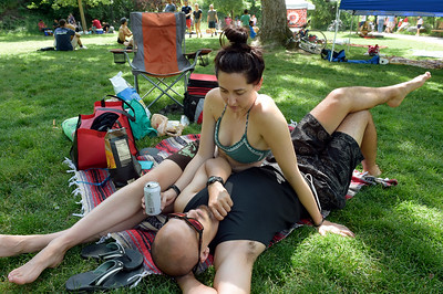 Tubing ban, enforced rules don't dampen Eben G. Fine revelry in Boulder