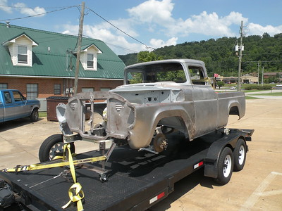 Brian's 57 Ford Pickup