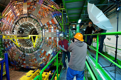 Strobist at CERN, Feb 2008.