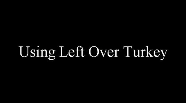 Left Over Turkey2015.mp4
