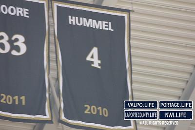 Robbie Hummel Banner Ceremony at Purdue