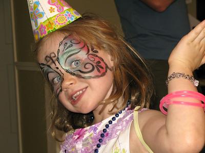 2010/08 - Zadie's Fifth Birthday