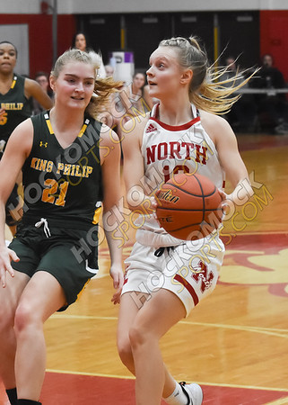 North Attleboro - King Philip Girls Basketball 12-27-19
