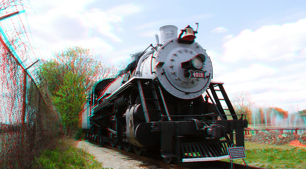 Anaglyph from two images