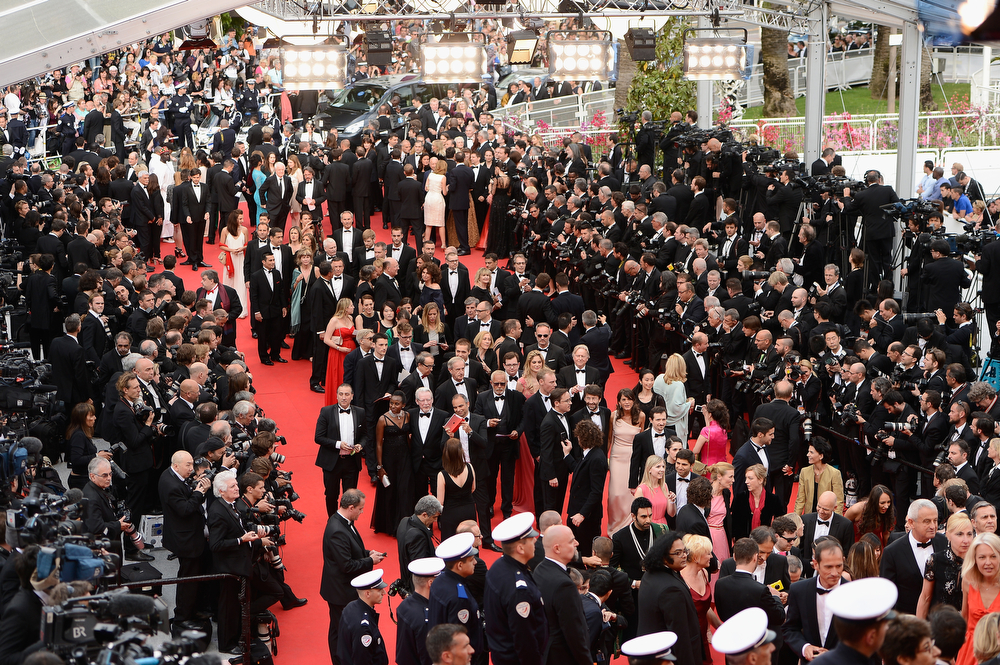 ". A general view of the Opening ceremony and the ""Grace of Monaco\"" Premiere during the 67th Annual Cannes Film Festival on May 14, 2014 in Cannes, France.  (Photo by Ian Gavan/Getty Images)"