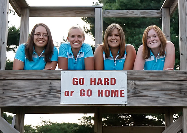 SNHS Girls Golf 2008