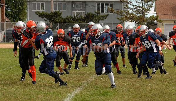 2007-09-16 Island Park Patriots vs Hicksville, Youth Football