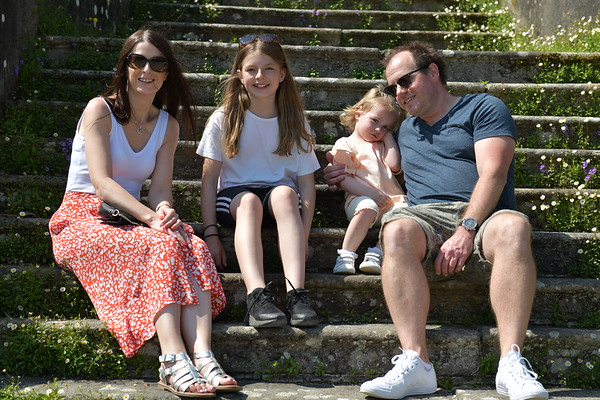 Family day out to Sizergh Castle