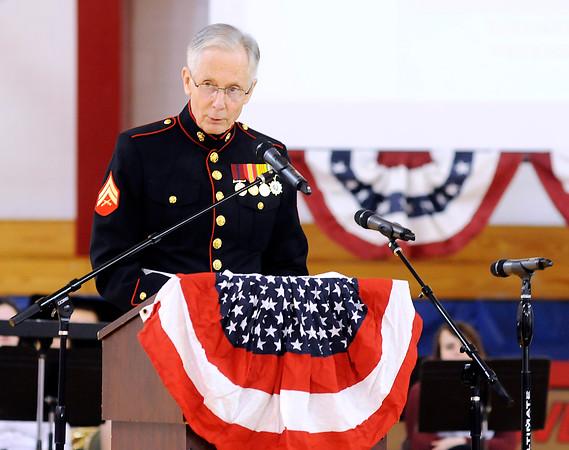 Veterans Day Program at Liberty Christian School