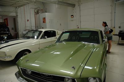 A couple of nice Mustangs (new arrivals).
