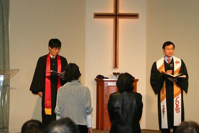 Mandarin Baptism 2-14-2010