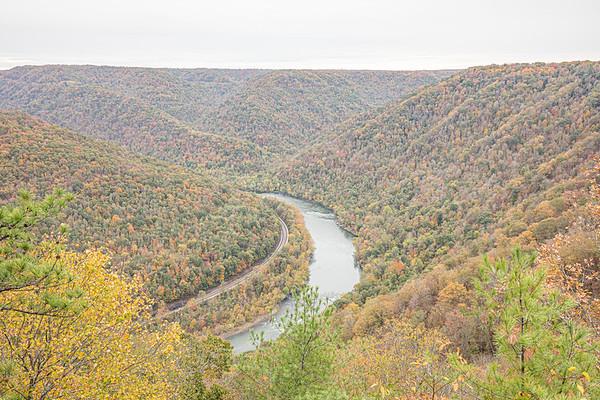 Grandview, New River Gorge National River