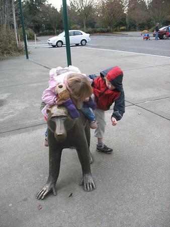 Zoo mit Lucas
