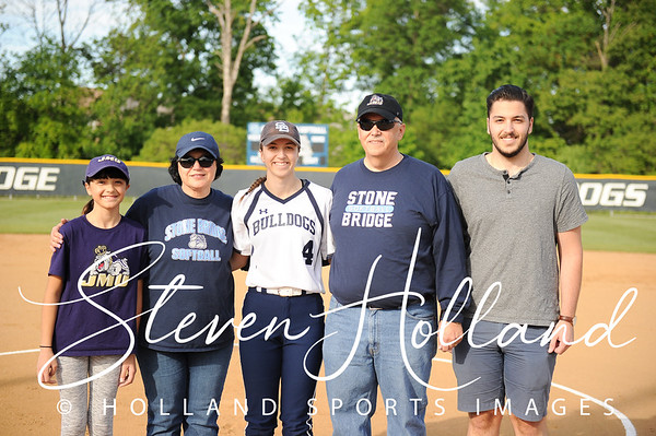 Softball - Stone Bridge Senior Night 5.9.2017 (by Steven Holland)