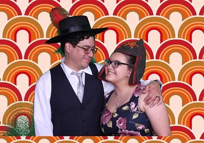 Jessica & Michael Photo Booth, Cornelius Pass Roadhouse