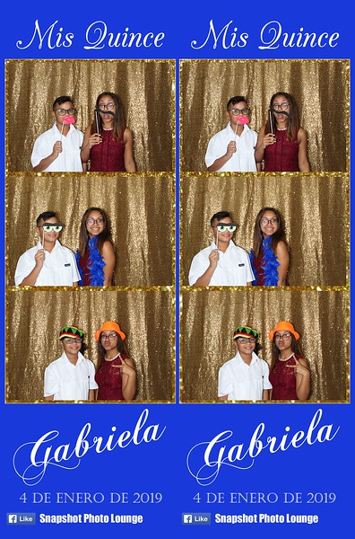 Gabriela's Quince - January 4th, 2019