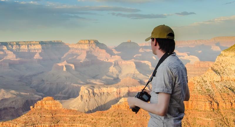 Eugene at Grand Canyon