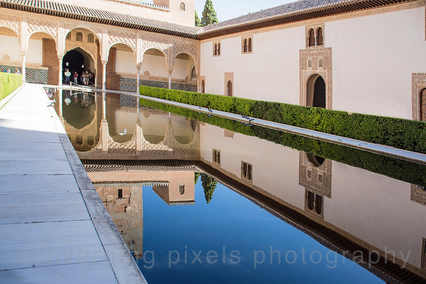 The Alhambra and the Life Generalife:  Granada, Spain