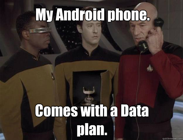 data android phone