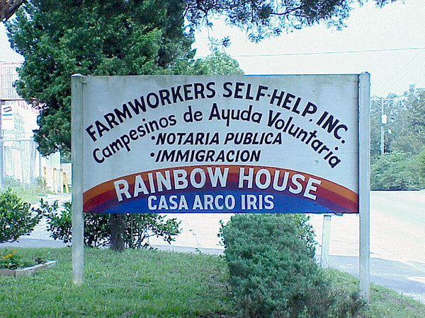 Farmworkers Self-Help, Inc., Dade City, Fla., includes a free medical clinic, day care, thrift store, job training and courses on immigration for migrant and seasonal farm workers.