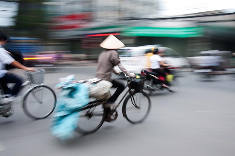 Cyclist, Ha Noi, Vietnam