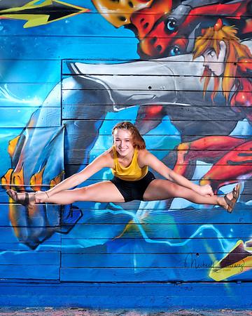 Ashley Ballard Gymnast Cheerleader