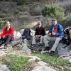 Buddhists Valley hike near Sanchet with Helen and Jon