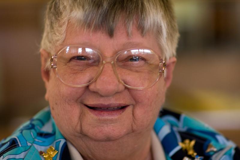 Grandma's got that smile