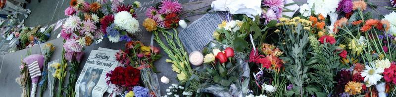 2001 Flower Vigil for 9/11