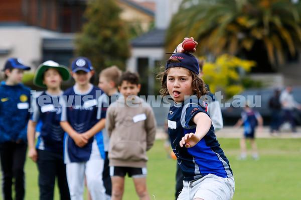 Maccabi Jnr Cricket training Nov 2020