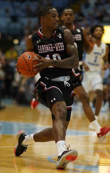 Gardner-Webb Men's Basketball traveled to Chapel Hill to face UNC on November 15th, 2019.