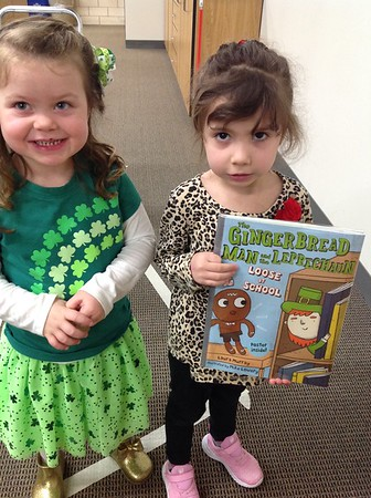 Gingerbread Man and the Leprechaun Book and St. Patrick's Day