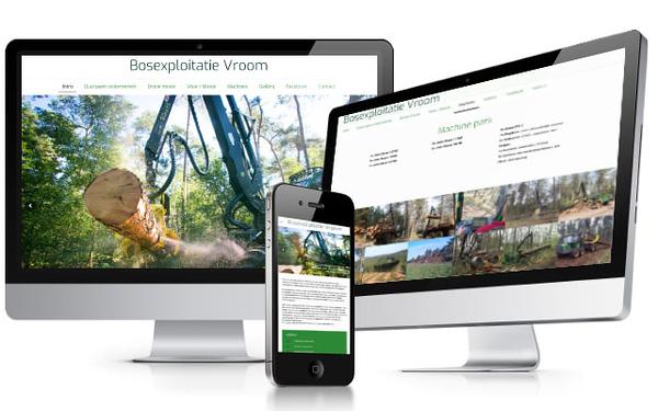 Vroom | photography including webdesign full responsive