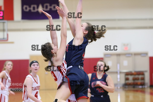 SLC JV GIRLS BASKETBALL 32-46 MASSENA