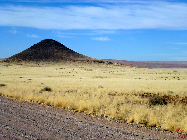 Road trip through South Namibia: dolorite mountain