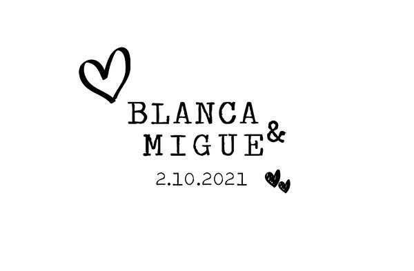 Blanca & Migue - 2 octubre 2021