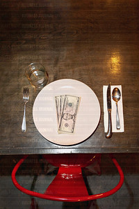 This photo illustration shot at a Kraken Congee restaurant in Seattle, Washington is for a story by Puget Sound Business Journal reporter Jeanine Stewart