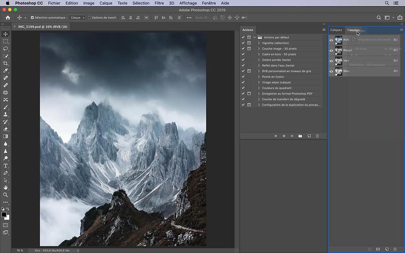 Simplifier l'espace de travail de Photoshop.mp4