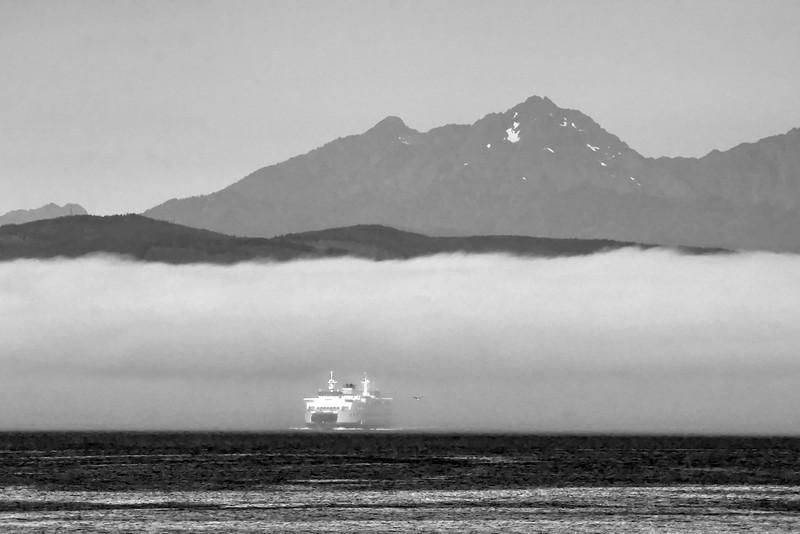 Ferry, Fog, Flight, August 2016