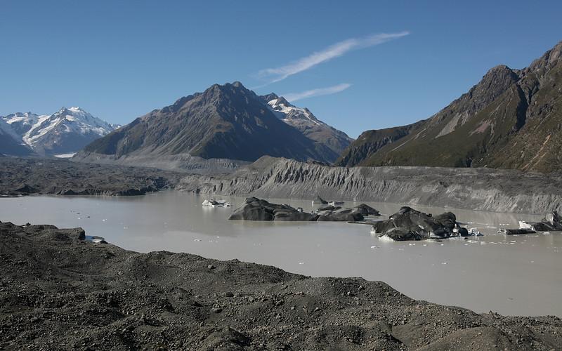 Mount Cook Gletscher