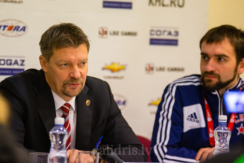Head coach of SKA Saint Petersburg Jukka Jalonen