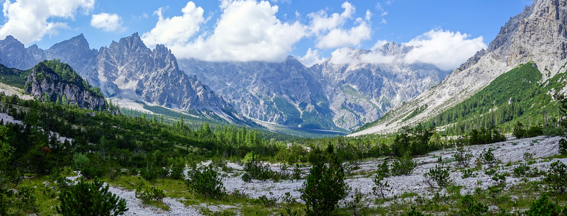 The amazing landscape of Wimbachgries.