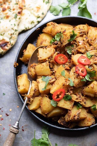 Bombay Aloo - Vegan Indian Recipes
